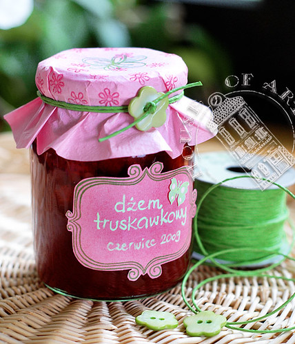 Strawberry Jam Jar Decorations For House Of Art Blog Agnieszka Mesmerizing How To Decorate Jelly Jars