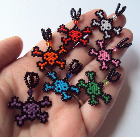 Skull beaded pendants desiree flickr skull beaded pendants by fivefootfury skull beaded pendants by fivefootfury mozeypictures Choice Image