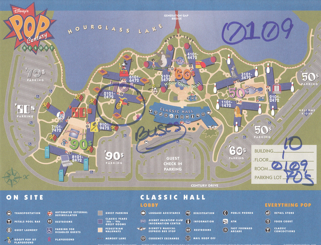 Pop Century Resort Map | Tara | Flickr