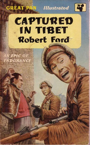 robert ford captured in tibet pan 1958 | by dexters paperbacks & photography
