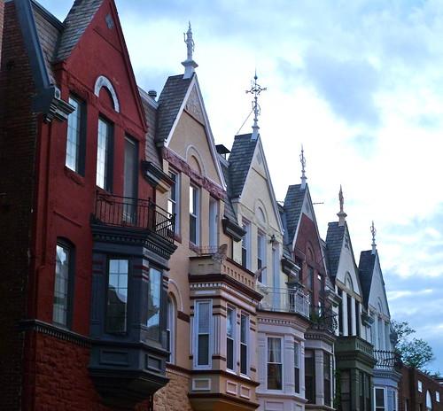 Apartments Around Dc: Row Houses Near Dupont Circle, Washington DC