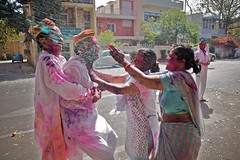 Holi Attack! | by Michael Foley Photography
