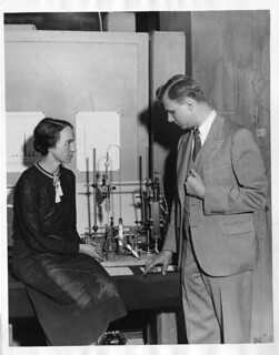 Marion Langhorne Howard Brickwedde (1909-1997) with Ferdinand G. Brickwedde (1903-1989) | by Smithsonian Institution