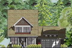 Bayport Bungalow House Plan Front Elevation | House ...