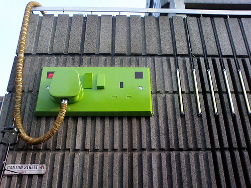 Ganton Street's power switch | by Panda Mery