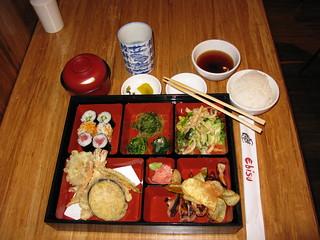 bento box lunch at ebisu restaurant i visited ebisu on the flickr. Black Bedroom Furniture Sets. Home Design Ideas