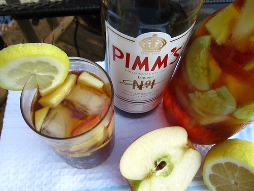 Pimm's and lemonade | by SeppySills