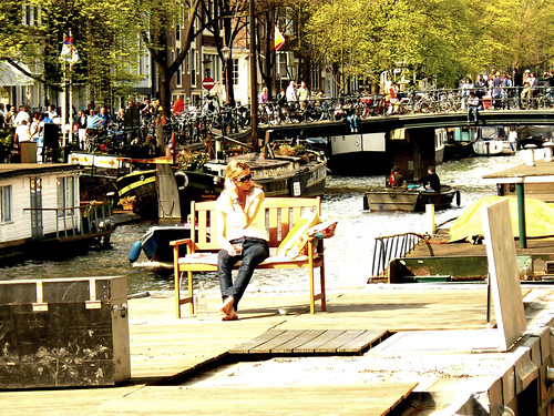 Spring In Amsterdam - Enjoying | by AmsterSam - The Wicked Reflectah