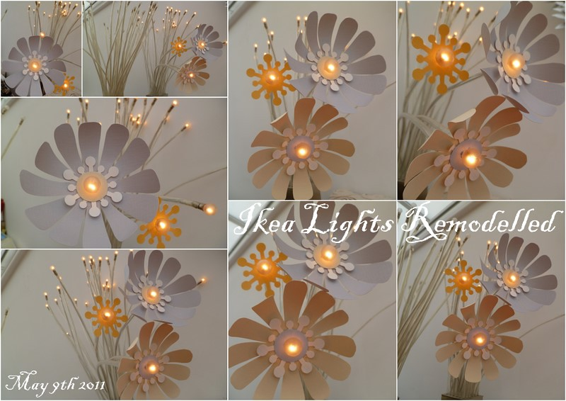 Paper flower ikea stranne light make over the 8th gem flickr paper flower ikea stranne light make over by the8thgem mightylinksfo Gallery