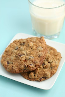Oatmeal Craisin Pecan Chocolate Chip Cookie | by Nook & Pantry