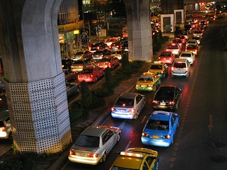 Traffic Jam in Bangkok (1-365/365) | by songglod
