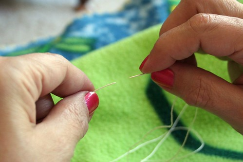 Tutorial: Quilter's Knot 1 | by turning*turning