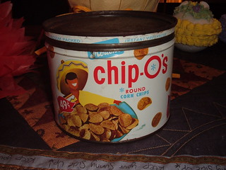 Chip-O's Corn Chips Keywind Tin Can | by traci*s retro