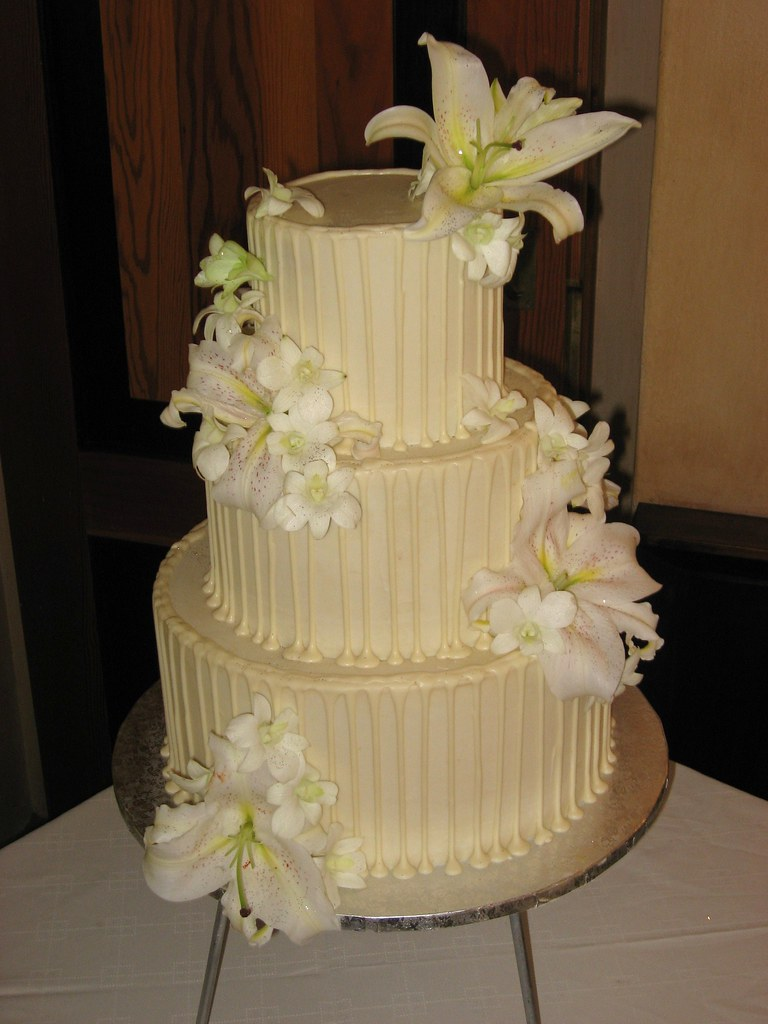 3 tier Wicked chocolate cake with white chocolate ganache … | Flickr