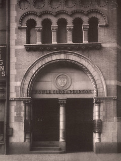 Entrance, Fowle, Cobb & Pearson Building, Boston | by Cornell University Library