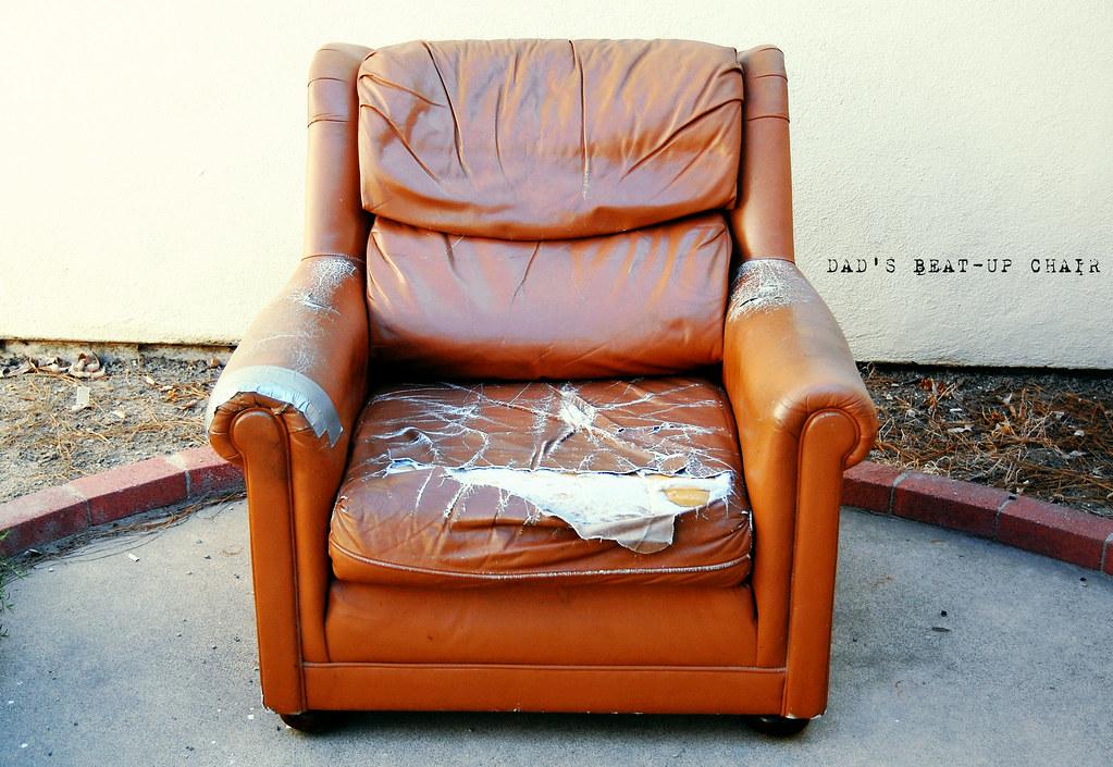 Superbe ... MissLindsayMeagan Dadu0027s Beat Up Chair | By MissLindsayMeagan