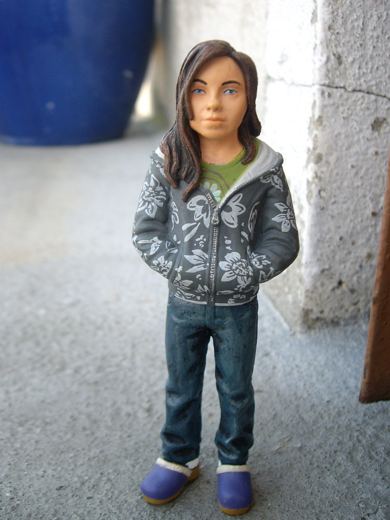 "heroes"" molly walker figure | baptiste | flickr"