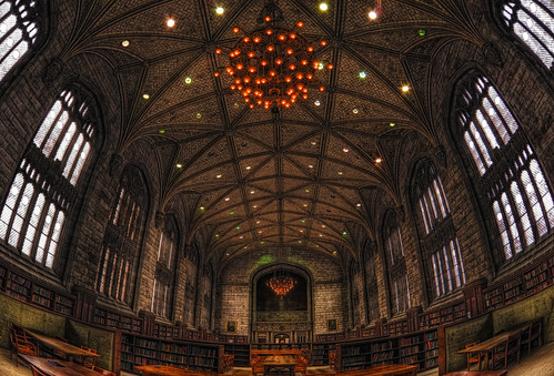 Harper memorial library - mark your seat and your favorite book with a note! | by kern.justin