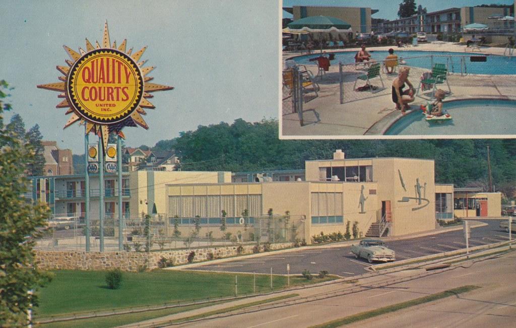 Quality Courts Motel South Gate - Arlington, Virginia