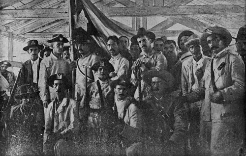 Cuban volunteers in the barracks | by State Library and Archives of Florida