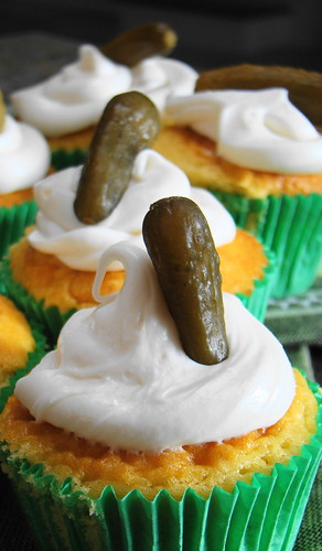 Pickle And Ice Cream Cake