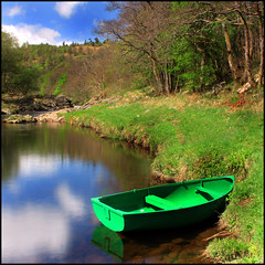 The Green Boat | by angus clyne