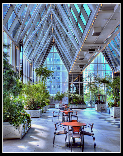 Wintergarden At Ppg Place Pittsburgh Pa Hdr Shot