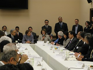 National Latino Advocacy Groups Meet with CHC | by HispanicCaucus