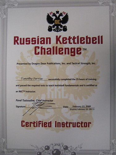 how to become a kettlebell instructor