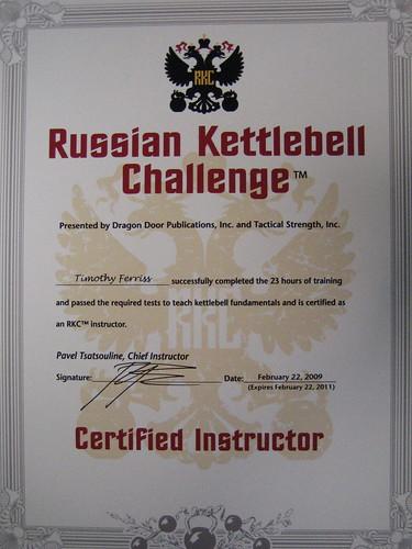 RKC - Russian Kettlebell Certification | Flickr