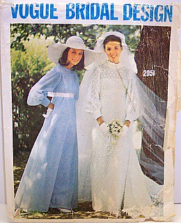 Vogue 2058 Vintage 70\'s Sewing Pattern Boho Wedding, Brida… | Flickr