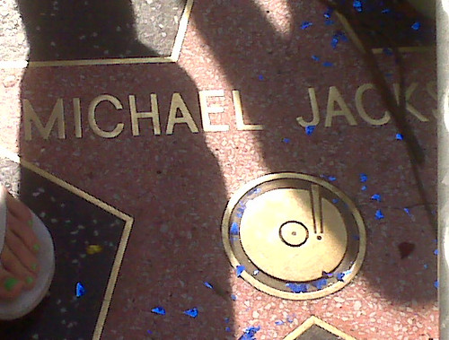 Michael Jackson's Star Close Up | by tleonard1