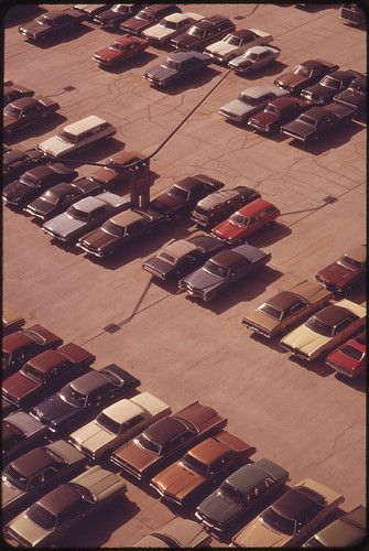 Parking Lot at Logan Airport | by The U.S. National Archives