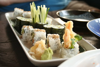 Vegetarian sushi combo | by Geoff Peters 604