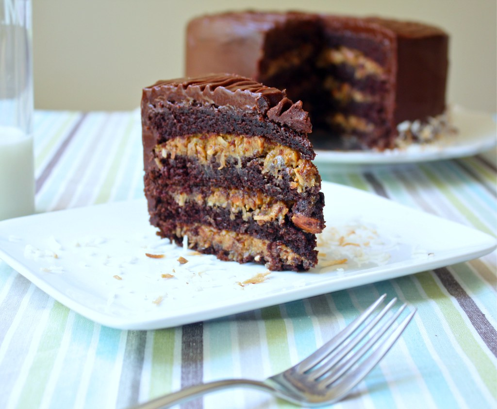 Inside Out German Chocolate Cake Recipe at Sass Veracity Flickr