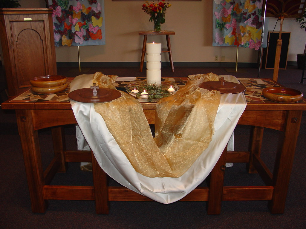 new communion table | robin | flickr