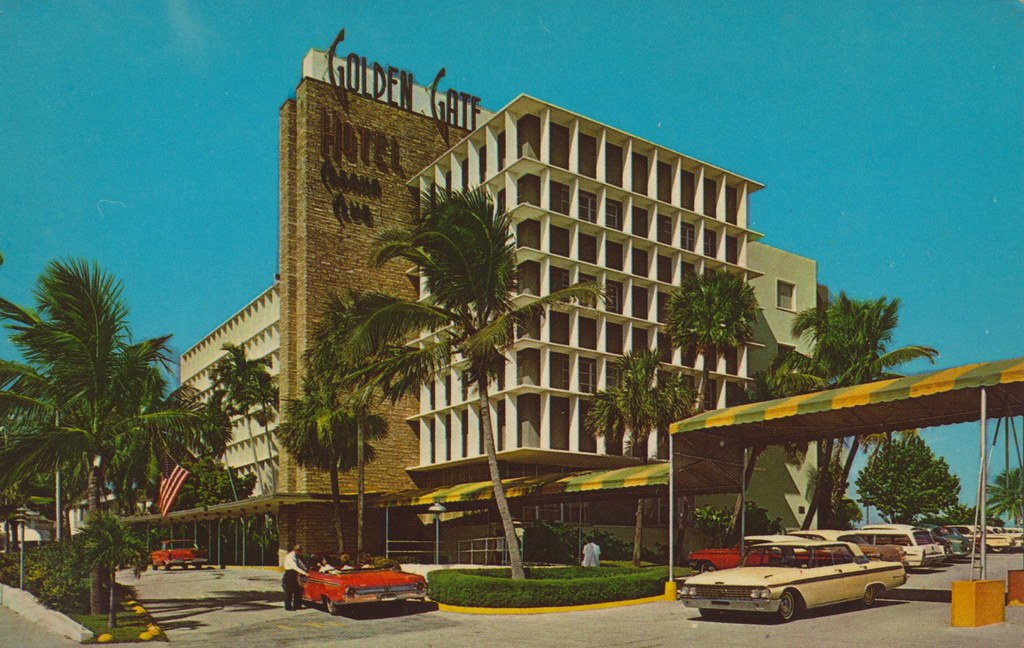 Golden Gate Hotel, Motel and Villas - Miami Beach, Florida