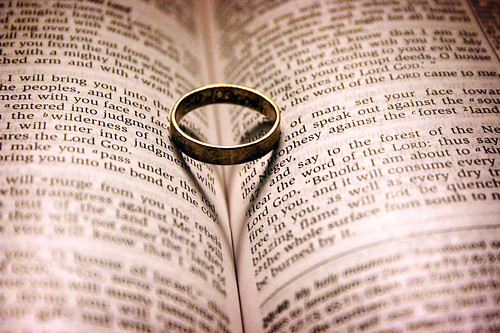 one flesh Matthew 19:5 and said, 'for this reason a man will leave his father and mother and be united to his wife, and the two will become one flesh' mark 10:7.
