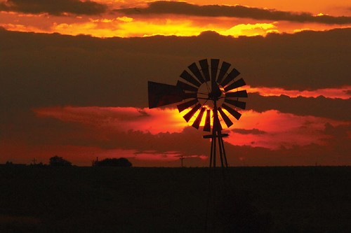 Sunset Windmill | by Iowa Farm Bureau