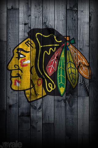 Chicago Blackhawks I Phone Wallpaper