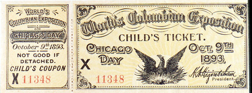 Child's Ticket, Chicago Day | by The Field Museum Library