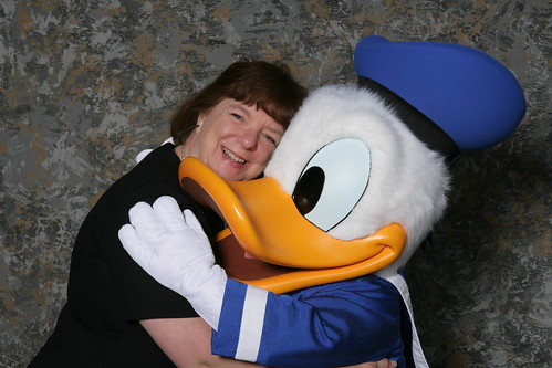 Mary Crabtree gets a hug from a dear friend! | by American Association of Colleges of Pharmacy