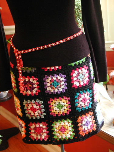 Granny Square Skirt 116