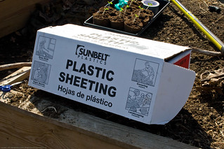 Humble Garden 2009: 4 mi plastic for cold frame | by nikaboyce