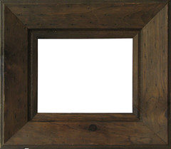 plain rustic wood frame by frodobabbs