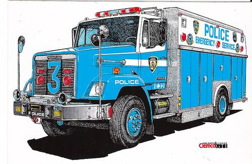 Nypd Esu Truck 3 Bronx Ny Squad Nypd Esu Truck 3
