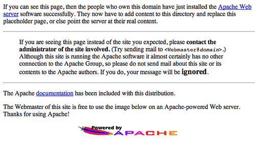 Default Apache Page & SEO | by rustybrick