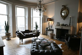 Alex macarthur baroque modern living room brooklyn for Modern baroque living room