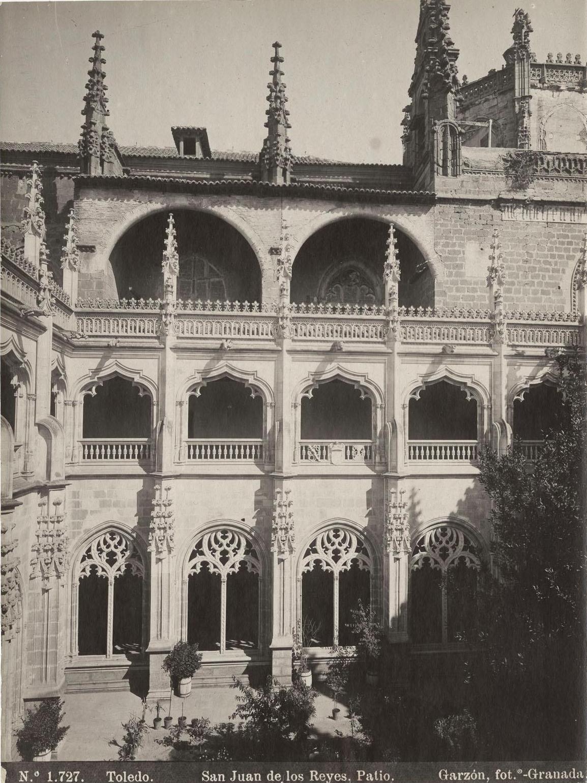 Monasterio de San Juan de Los Reyes a finales del siglo XIX. Fotografía de Rafael Garzón