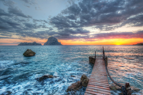Distant Rocks Off Ibiza | by Stuck in Customs